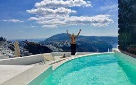 White Sky Caldera Villa