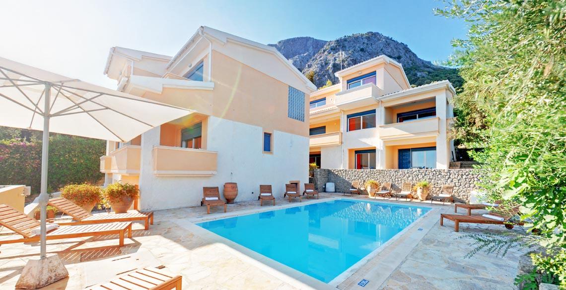 διαμερίσματα Glyfa Corfu Apartments